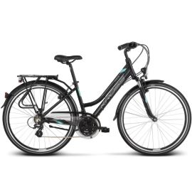 Rower KROSS Trans 2.0 L Woman 2018 czar-mięt-sreb