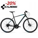 Rower CUBE Curve Pro 54cm 2016 czarn-szaro-niebies