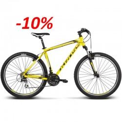 Rower KROSS Hexagon R3 S 2017r. żółto - czarny