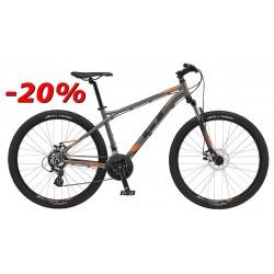 """GT Bicycles Aggressor 27,5"""" Comp r.L grafitowo pomarańczowy 2017r"""