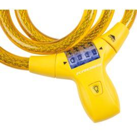 Zapięcie szyfr KROSS KZS 550 12x900mm żółte