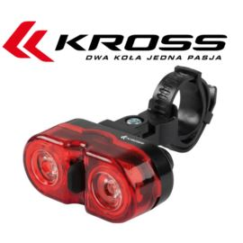 Lampka tył KROSS Red Eye