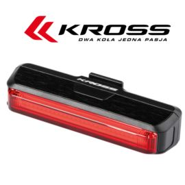 Lampa tył KROSS Red Blind 100l USB
