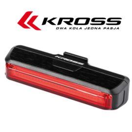 Lampa tył KROSS Red Blind 100l USB