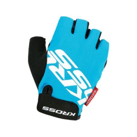 Rękawiczki KROSS Flow sf S niebiesko-białe