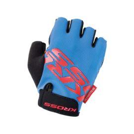 Rękawiczki KROSS Flow sf L niebieski-czerwone