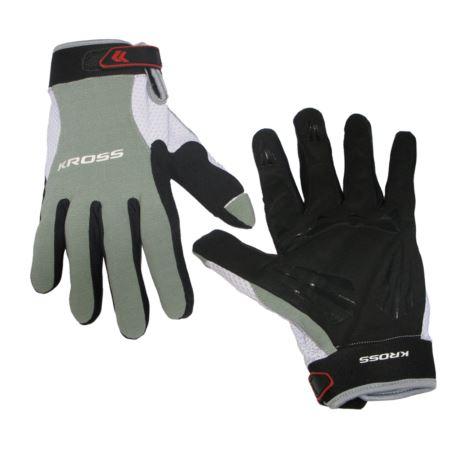 Rękawiczki KROSS MTB KRP-1-2011 roz.XL seledynowe