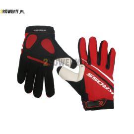 Rękawiczki KROSS Race roz.XL czerwone
