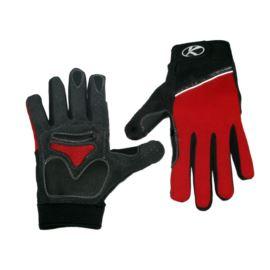 Rękawiczki KROSS CG-826-7 roz.M czerw.