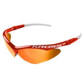 Okulary KROSS DX-SPT czerwono - białe