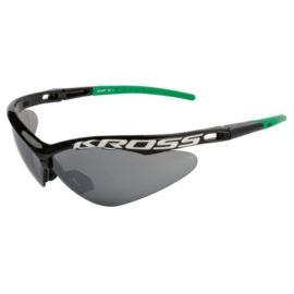 Okulary KROSS DX-SPT czarno - zielone