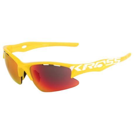 Okulary KROSS DX-RACE żółte