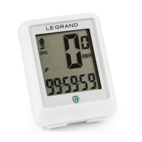 Licznik LE GRAND C11 przewodowy biały