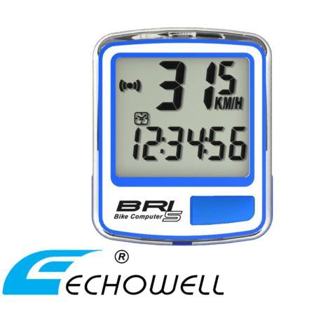 Licznik ECHOWELL BRI-5 niebieski
