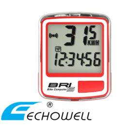 Licznik ECHOWELL BRI-5 czerwony