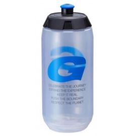 Bidon GIANT GoFlo 600ml transparent. czarn.