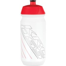 Bidon KROSS Float 500ml biało czerwony