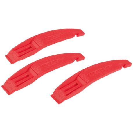 Łyżki do opon KROSS TIVER 200 czerwone 3szt