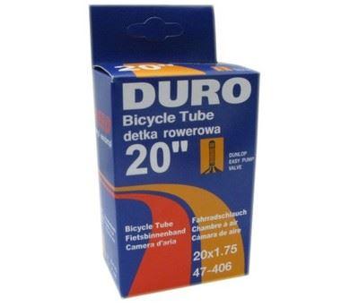 Dętka DURO 20x1,75 DV box