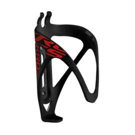 Koszyk bidonu KROSS Grid czarno - czerwony