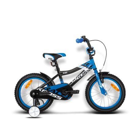 Rower KROSS Racer 16'' 2016r. czarno-niebieski
